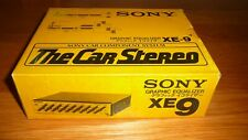Brand New SONY XE-9 Graphic Equalizer 1979