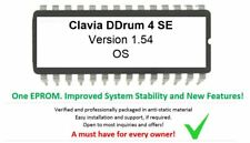 Clavia ddrum 4 SE - Version 1.54 Firmware OS upgrade Eprom - New Features!