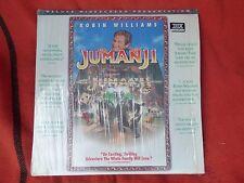 JUMANJI LASERDISC PAL WIDESCREEN Kids Williams Laser Disc Large DVD LaserDisc