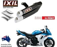 Suzuki GSX 650 F  2008-2017 IXIL L3X Black slip-on exhaust