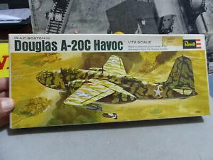 REVELL -Scala 1:72 -DOUGLAS A-20C HAVOC bim.re USA -Kit nuovo e perfetto-