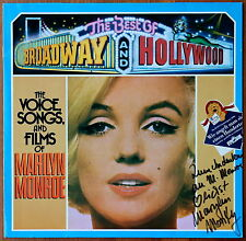 LP-, Marilyn Monroe>The Voice, Songs, and Films of Marilyn Monroe