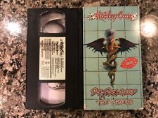 Motley Crue Dr. Feel Good The Videos Vhs! 1990.