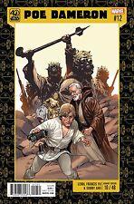 Poe Dameron #12 Marvel Comics 2017 Lf Yu 40th Anniversary Variant Star Wars