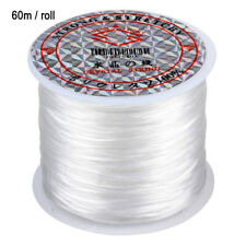 60m Strong Elastic Stretchy Beading Thread Cord Bracelet String For Making DIY