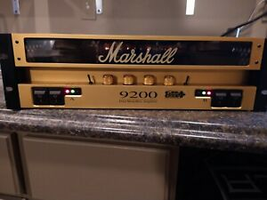 Marshall 9200 Dual Monoblock Amplifier 100 watt stereo amplifier