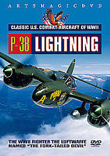 P-38 LIGHTNING.  CLASSIC U.S COMBAT AIRCRAFT OF WWII. DVD / NEW
