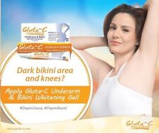 Gluta C Skin White Glutathione Whitening Lightening Body Underarm & Bikini Gel