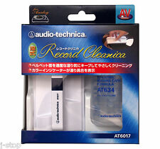 From Japan Audio-Technica AT6017 Vinyl Record Liquid Cleaning Kit Solution White