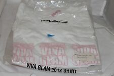 RICKY & NICKI MAC VIVA GLAM T SHIRT SIZE SMALL NEW IN PACKAGE 2012 CAMPAIGN