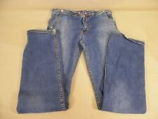 Eckored Jeans Stretch Straight Leg Blue Women's Size 7