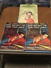 3 Hardy Boys HB Books 3-Secret Of Old Mill (2) 57 Firebird Rocket Franklin Dixon