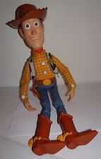 "Toy Story Talking 15"" Woody Doll Rubber Hat Disney Pixar Thinkway Interactive ?"