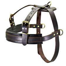 New listing Real Leather In Training Dog Harness Large Breed Doberman Rottweiler Heavy Duty