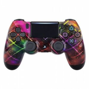 Neon Spacer Custom UN-MODDED PRO Controller Exclusive Design CUHZCT2 for PS4 OEM
