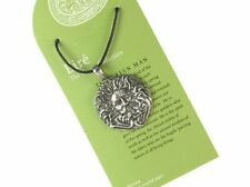 Green Man, God of the Vegetable World Pendant, with Cord Necklace #NI-EIR572