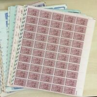 A lot of 20 all different 3 cent full mint sheets of 50 Mint NH OG