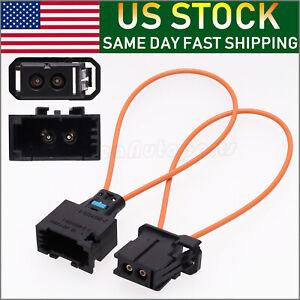 MOST fiber optic loop bypass MALE & FEMALE kit adapter for BENZ PORSCHE BMW USA