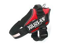 Pettorina Cane Julius-k9 IDC Power Harnesses Rosso 2