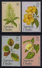 1981 SAMOA CHRISTMAS FLOWERS SET OF 4 FINE MINT MNH/MUH