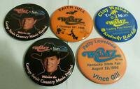 Strait Faith Hill Gill Loveless lot 5 country button pin 1990s concerts kY fair