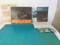 The Avalon Hill General Submarine Vintage Strategy Board Game WW2 War Complete