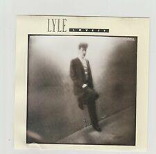 "Lyle Lovett- She's No Lady UK promo 3"" cd single"