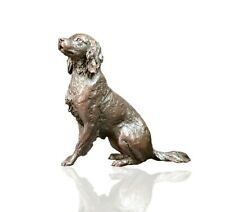 Springer Spaniel Dog Bronze - Ltd Ed 150 Michael Simpson. 720g.