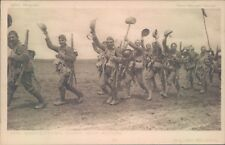 Postcard WW1 the Worcester's Going into Action   daily Mail battle series No33