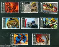 Fire & Rescue Service set of 8 mnh stamps 2015 Gibraltar 150th anniversary