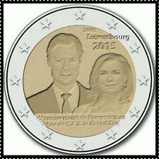 2 EURO *** Luxembourg 2015 Luxemburg  ***  Henri 15 jaar/ans Troon - Trone !!!