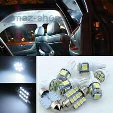 Xenon White SMD LED Lights Interior Package for Hyundai 2008-up Genesis Sedan