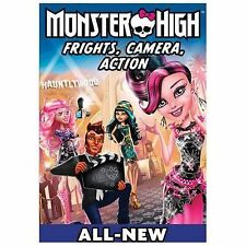 Monster High: Frights, Camera, Action! (DVD, 2014)