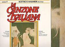 CLAUDIO VILLA CARLA BONI TONINA TORIELLI MILVA disco LP LA CANZONE ITALIANA n.1