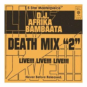 Afrika Bambaata - Death Mix 2 (Live Recording/Mixed by)(CD 2006)New/Sealed