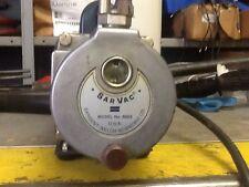 Sarvac Vaccum Pump. Model 8803