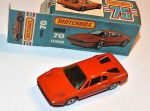 MATCHBOX Superfast Nr. 70 »Ferrari 308 GTB« 1981 in OVP, unbespielt