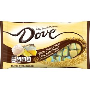 DOVE Promises White Chocolate Lemon Meringue 7.4 oz Bag