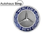 Original Mercedes-Benz Radnabenabdeckung A17140001255337 Radnabendeckel blau
