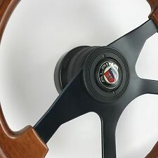 Genuine Atiwe 350mm wood steering wheel. Alpina. Classic BMW E30 includes hub