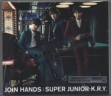 Super Junior K.R.Y. : Join Hands (2015) Japan / CD & DVD & CARD TAIWAN