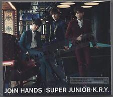 Super Junior K.R.Y. : Join Hands (2015) Japan / CD & DVD & CARD TAIWAN