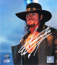 WWE UNDERTAKER HAND SIGNED AUTOGRAPHED 8X10 PHOTOFILE PHOTO WITH PROOF & COA 1