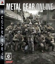 PS3 Metal Gear Online Japan Game Japanese