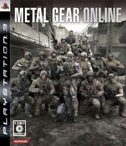 PS3 Metal Gear Online Japan Game Japanese