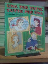 Album Panini - UNA PER TUTTE, TUTTE PER UNA / PICCOLE DONNE / completo