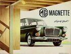 MG Magnette MkIV 1963-66 UK Market Sales Brochure