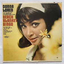 DONNA LOREN Beach Blanket Bingo LP 1965 pop vocal MONO VG+/VG+