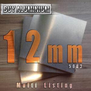 12mm Aluminium plate - 5083