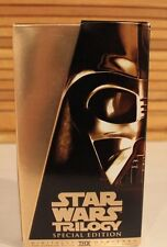Star Wars Trilogy Special Edition-VHS Fox Video Gold Box Set 1997